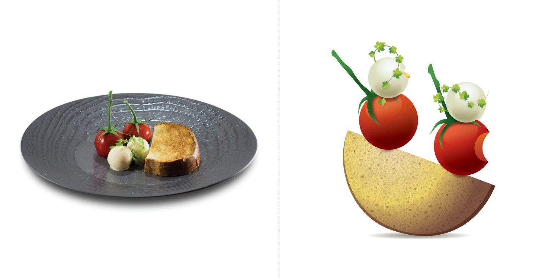 Sublime food design piatti Alessandro Buffolino