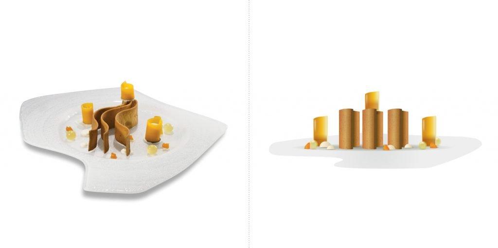 Sublime food design piatti Andrea Besuschio