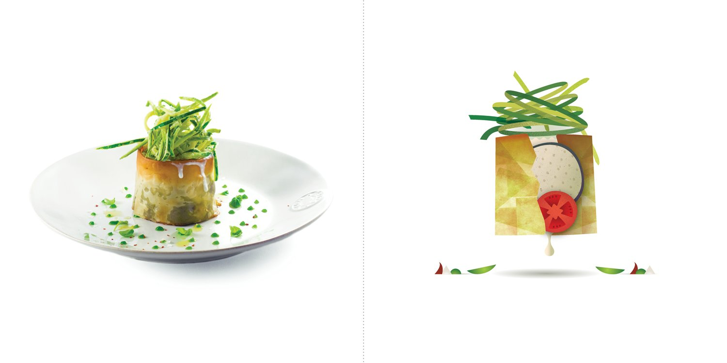 Sublime food design piatti Andrea Provenzani