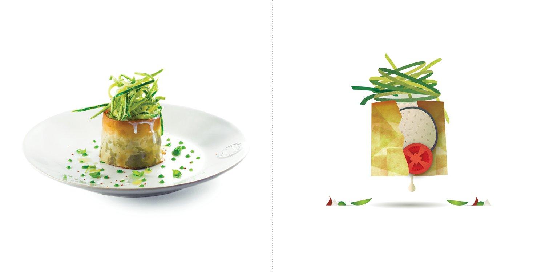 Sublime food design piatti Andrea Provenzani