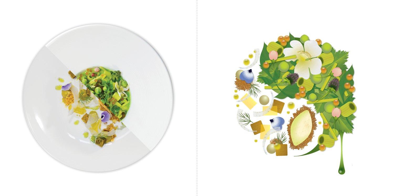Sublime food design piatti Battist De Santi