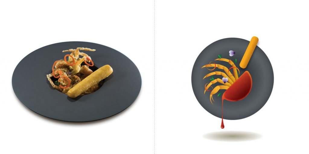 Sublime food design piatti Bryan Hooi