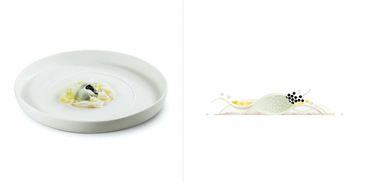 Sublime food design piatti Claudio Sadler