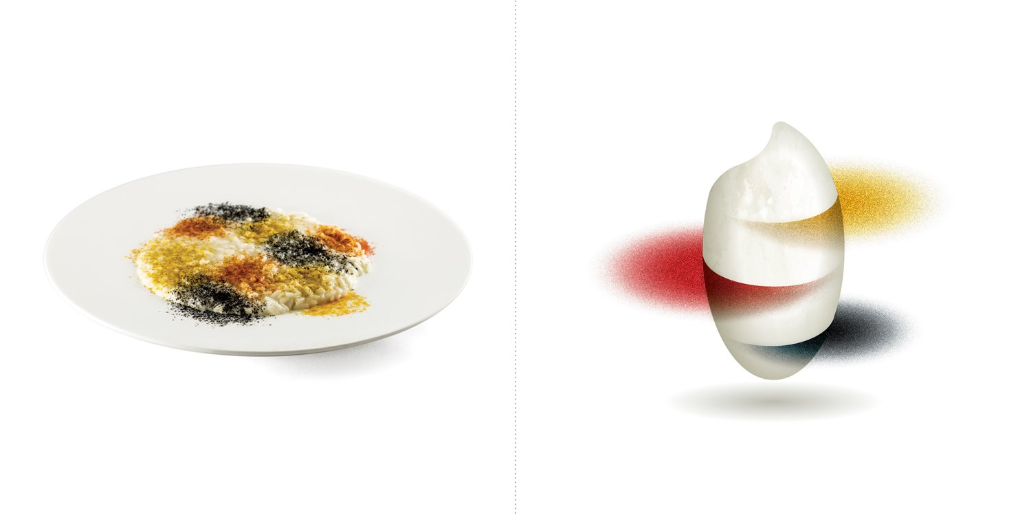 Sublime food design piatti Daniel Canzian