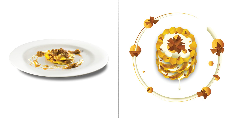 Sublime food design piatti Federico Sisti