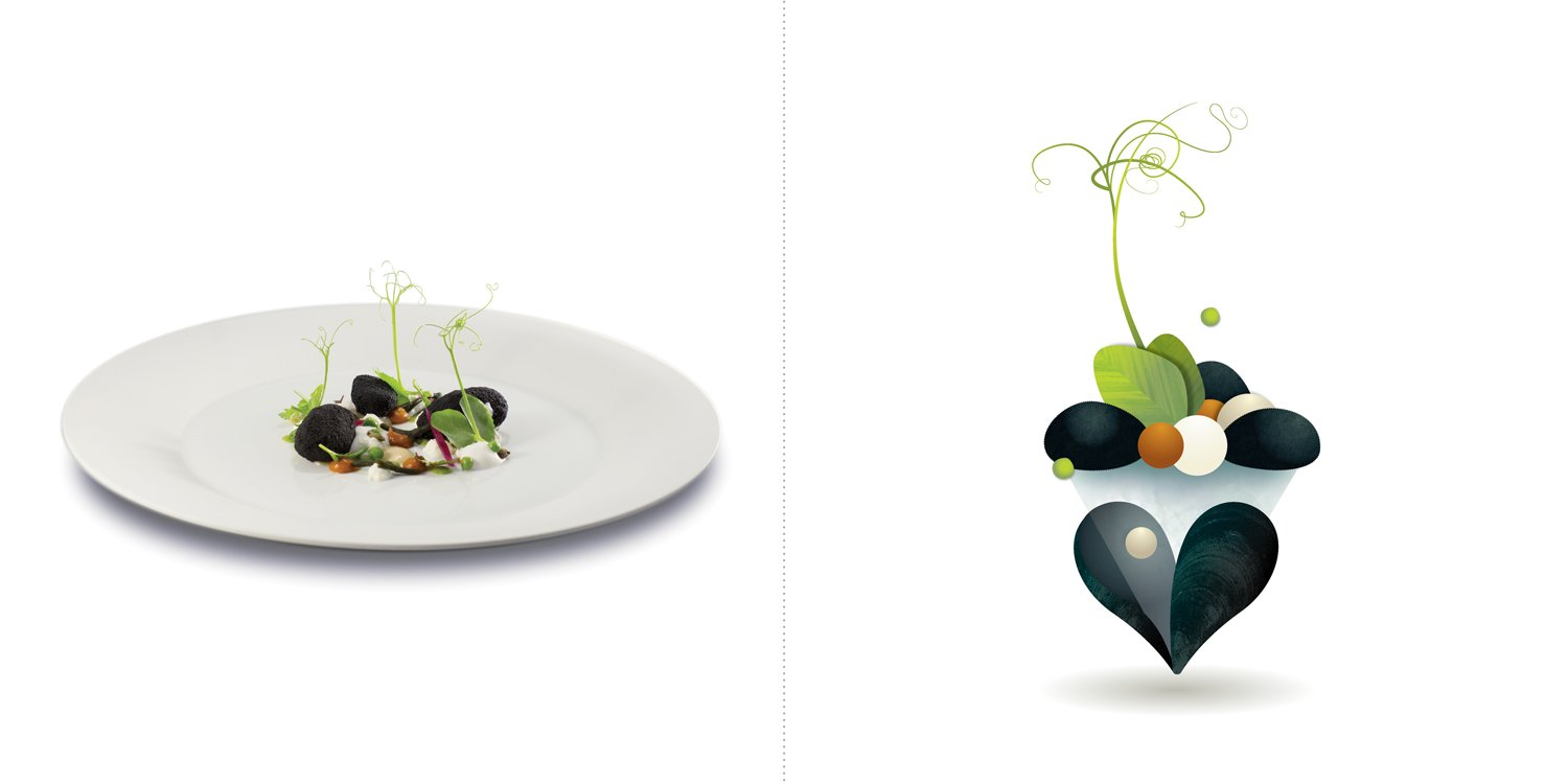 Sublime food design piatti Felice LoBasso
