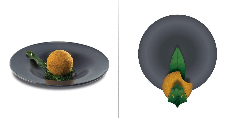 Sublime food design piatti Filippo Lamantia