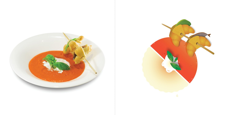 Sublime food design piatti Francesco Passalacqua