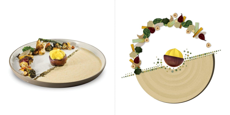 Sublime food design piatti Giancarlo Morelli
