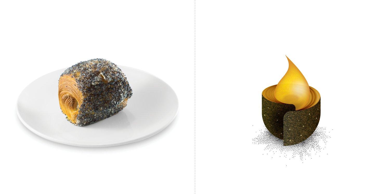 Sublime food design piatti Giovanni Giberti