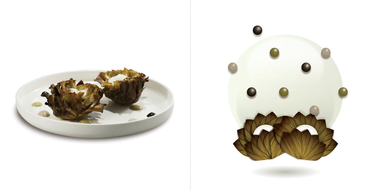 Sublime food design piatti Giovanni Traversone