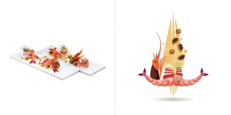 Sublime food design piatti Lucio Mele