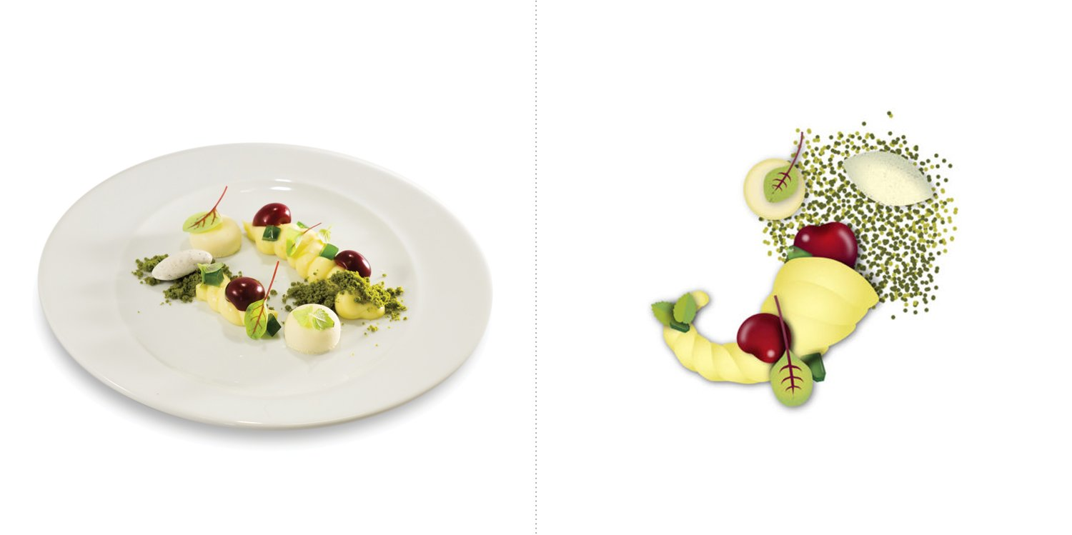 Sublime food design piatti Marcello Rapisardi