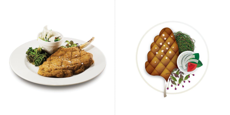 Sublime food design piatti Paolo Reina