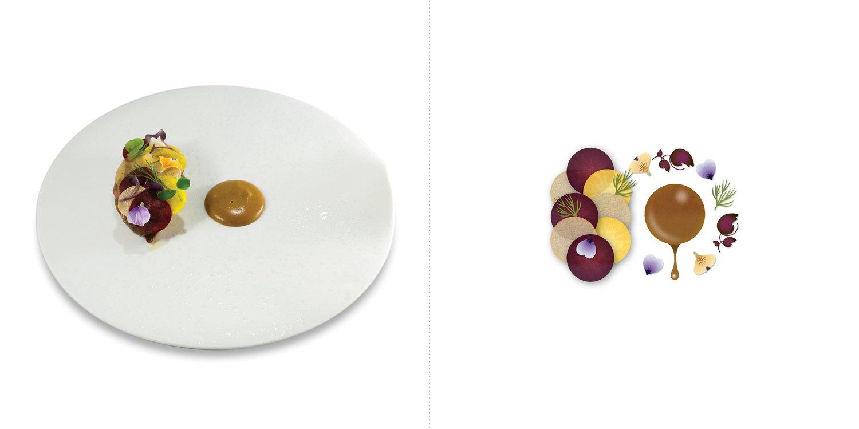 Sublime food design piatti Paolucci Koga