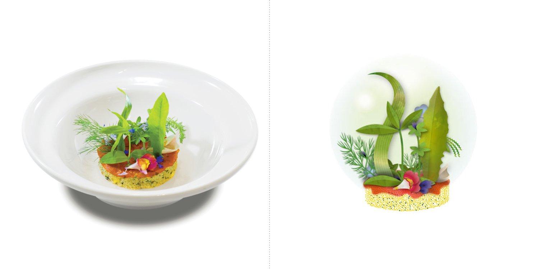 Sublime food design piatti Pietro Leemann