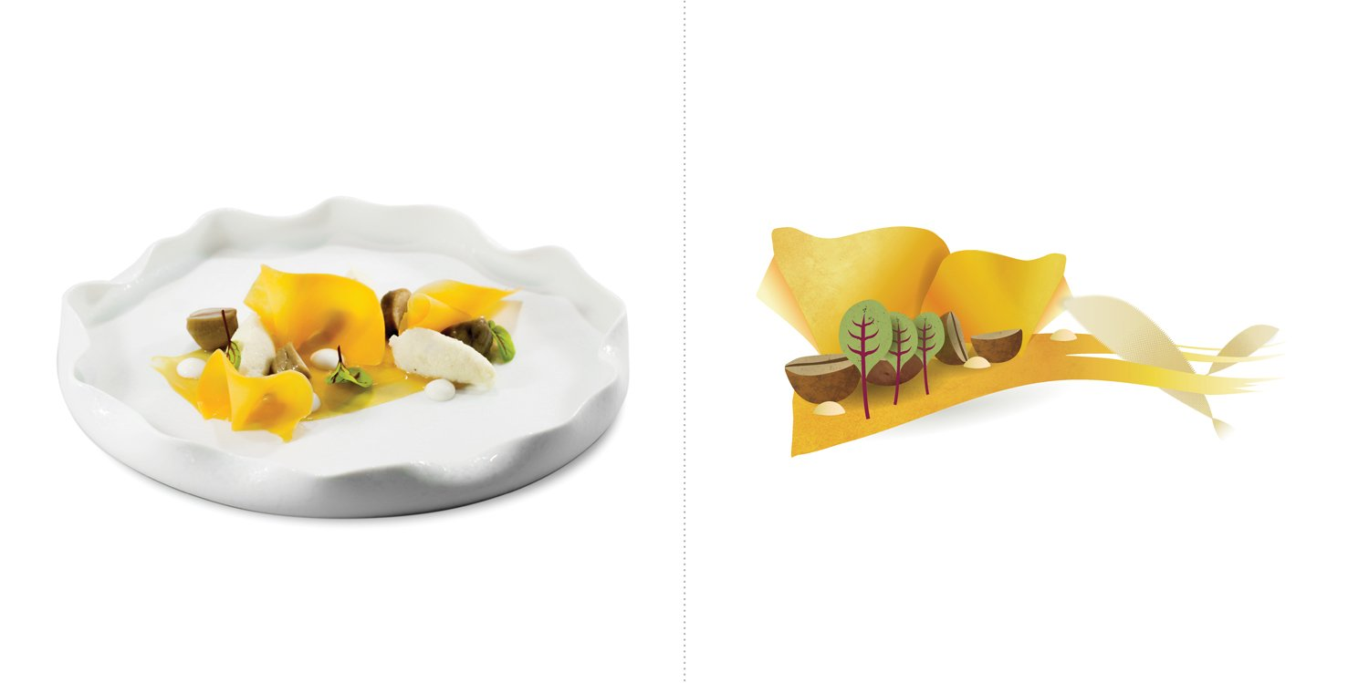 Sublime food design piatti Tommaso Arrigoni