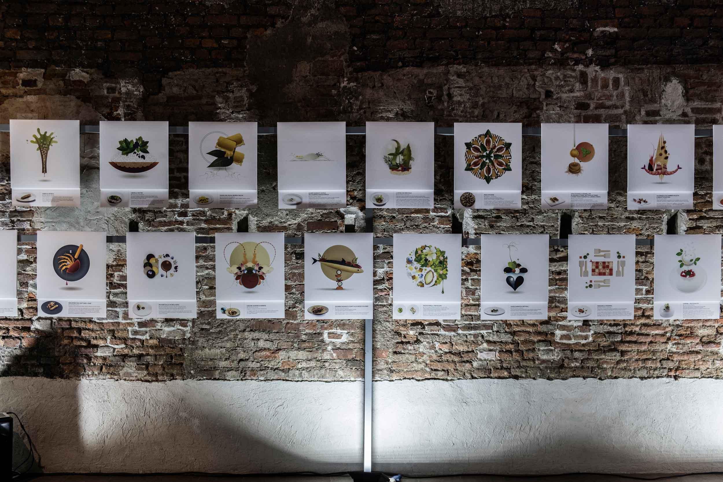 Sublime food design ricette in cibografica mostra A